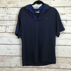 Under armour Blue Collared Shirt